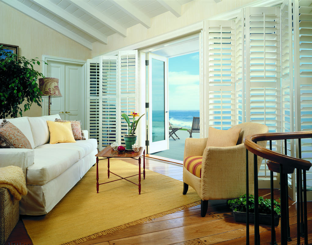 Shutters Blinds Shades Specialty Shapes Bi Fold Track System