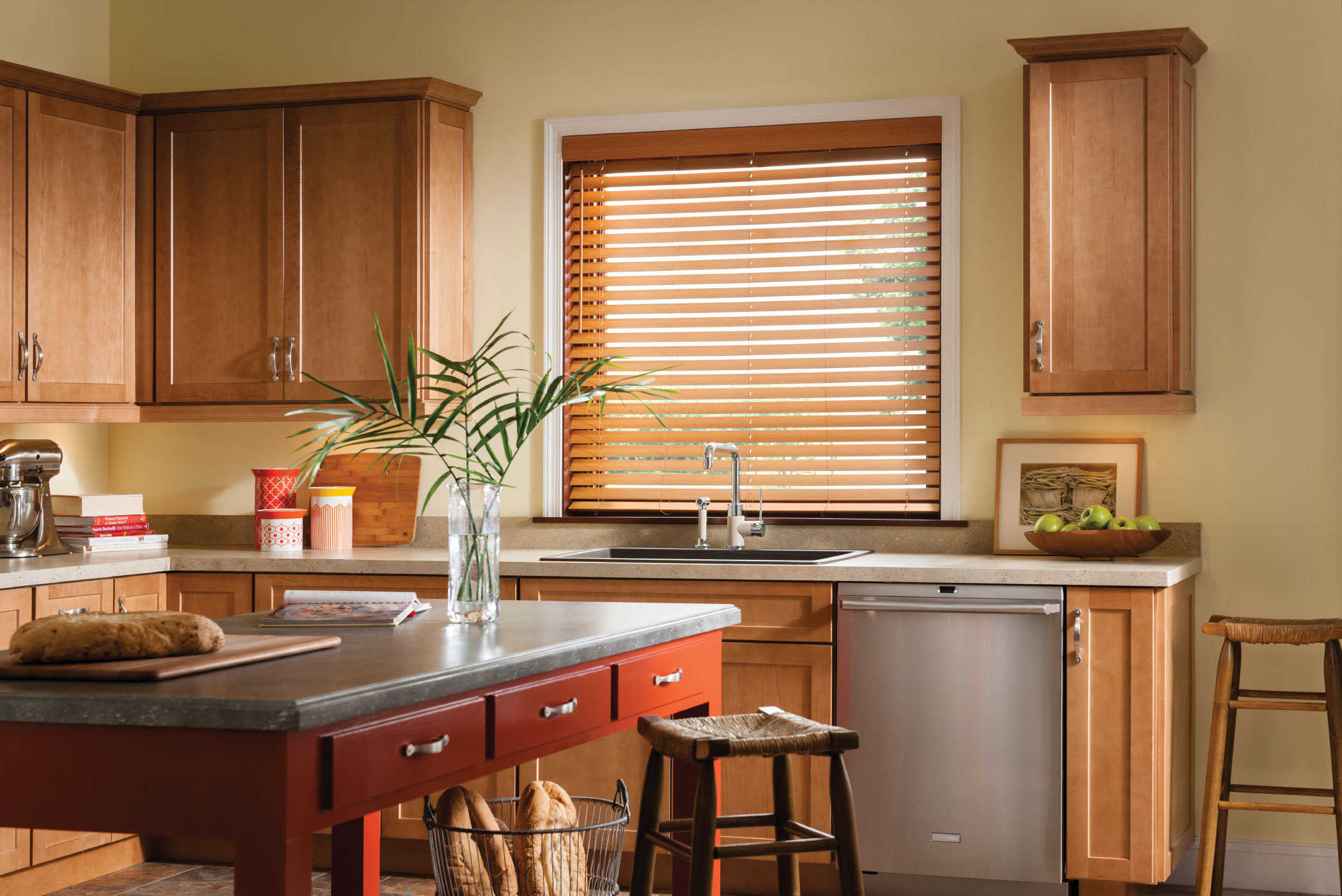 estate faux oak wood walmart cordless dark window com blinds regal ip blind