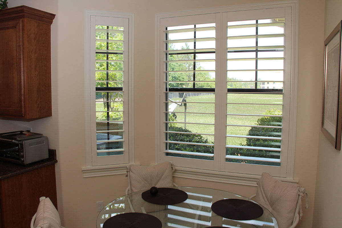 4 5 Inch Louver With Hidden Tilt Jacksonville Blinds