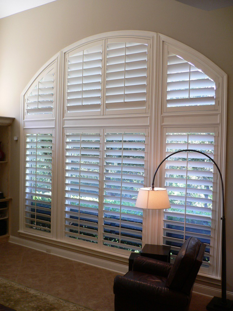 Eyebrow Louvered Arch Jacksonville Blinds Jacksonville