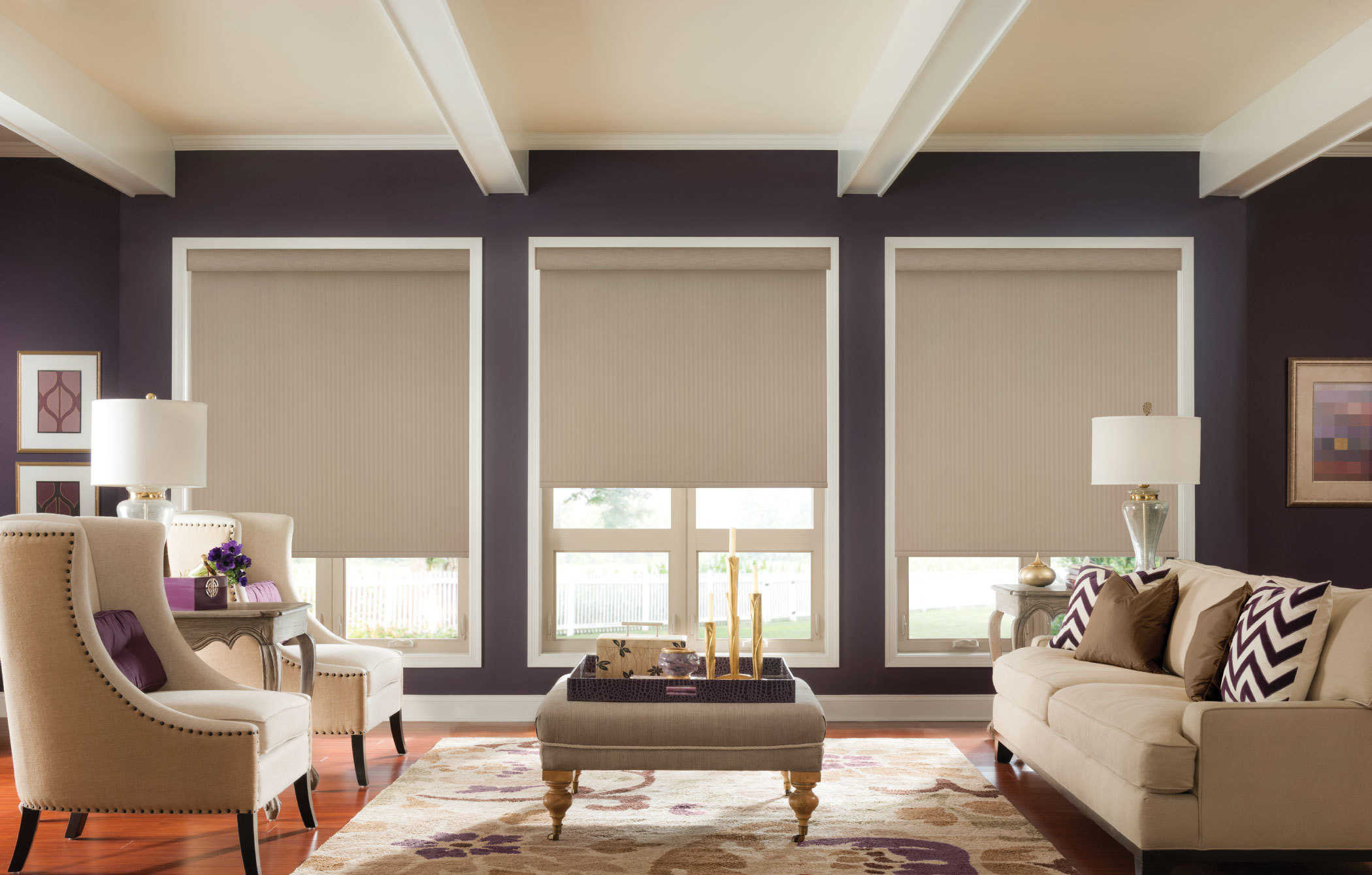 Fabric Roller Shades 2 Jacksonville Blinds Jacksonville Shutters Jacksonville Window Treatments