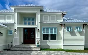 Exterior Bahama Shutters