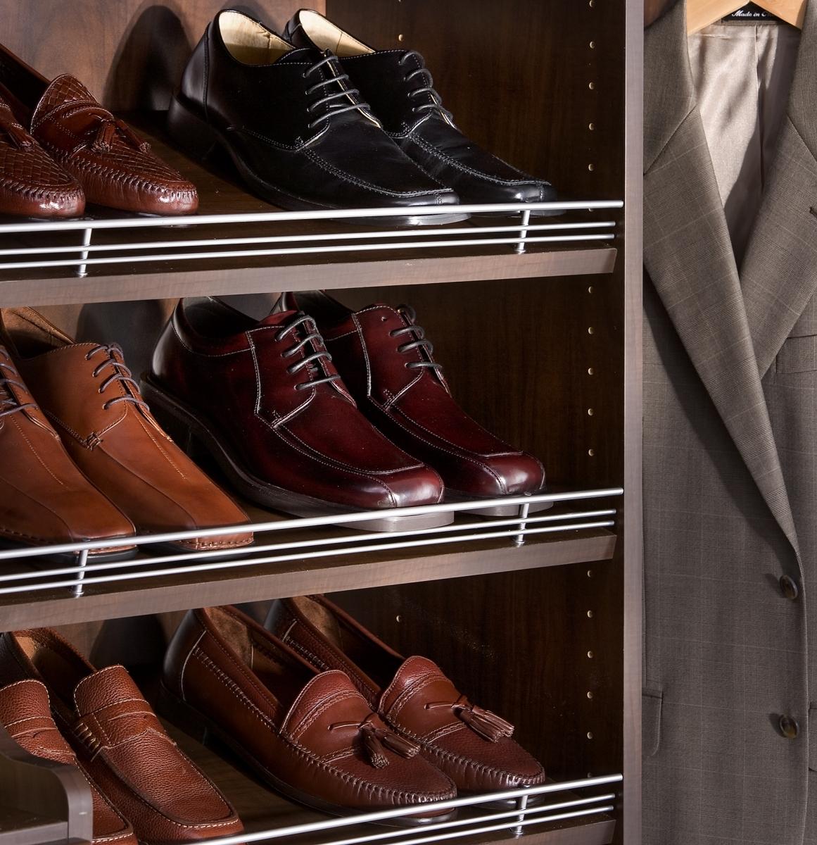 Shoe Shelves Mudroom