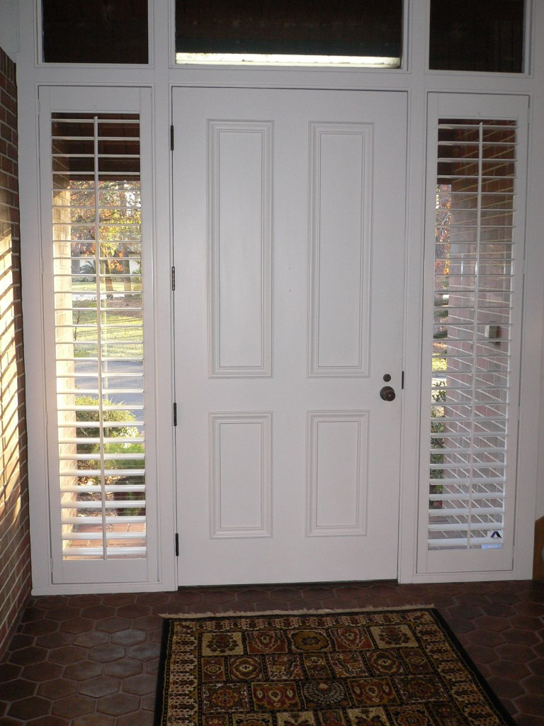 sidelight stained - Sidelight Blinds